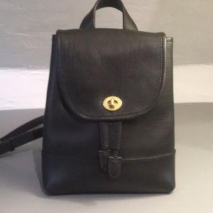 Coach Vintage Backpack 9960 Black